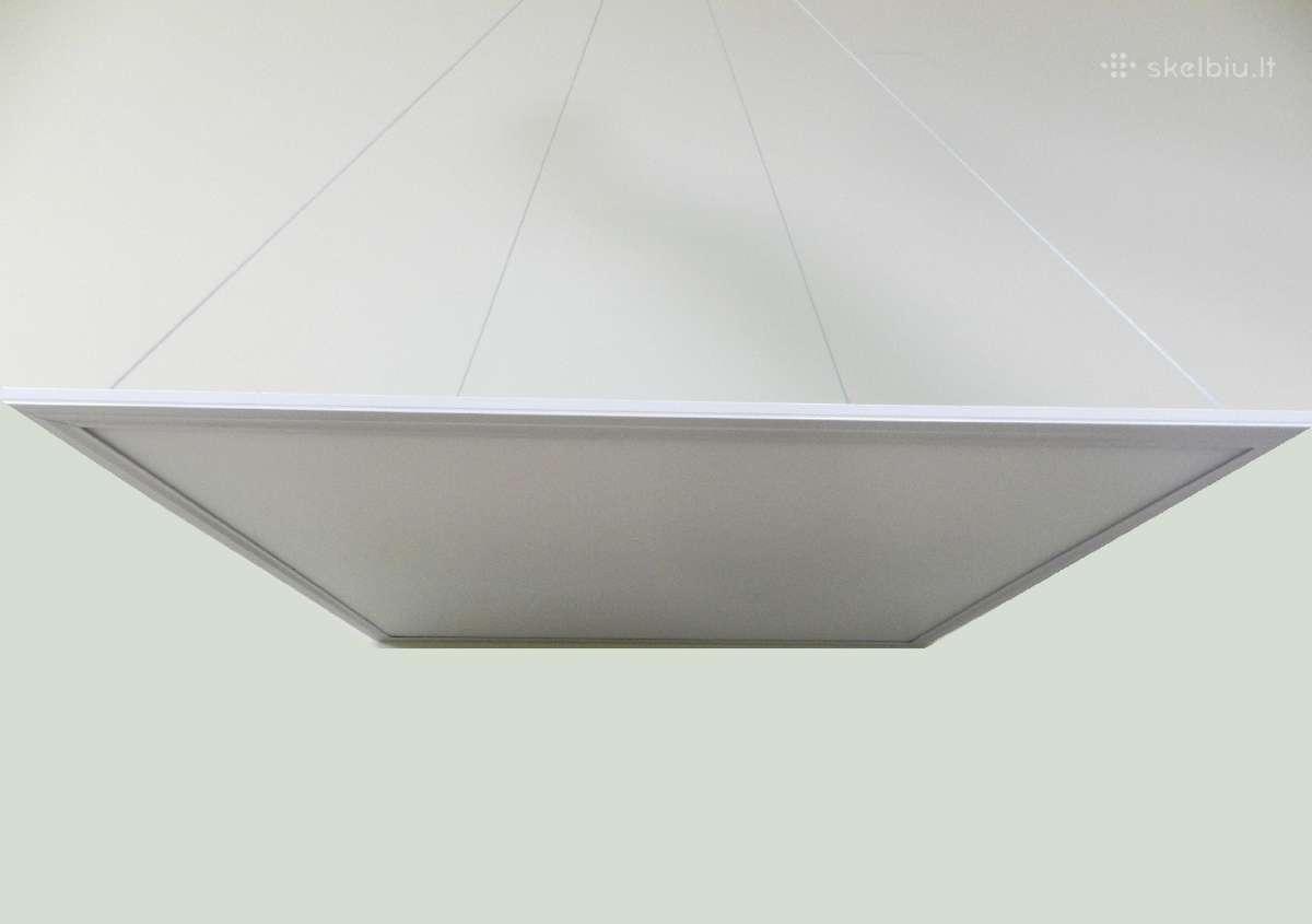 Led panelės Pakabinamos-montuojamos 60x60 48w
