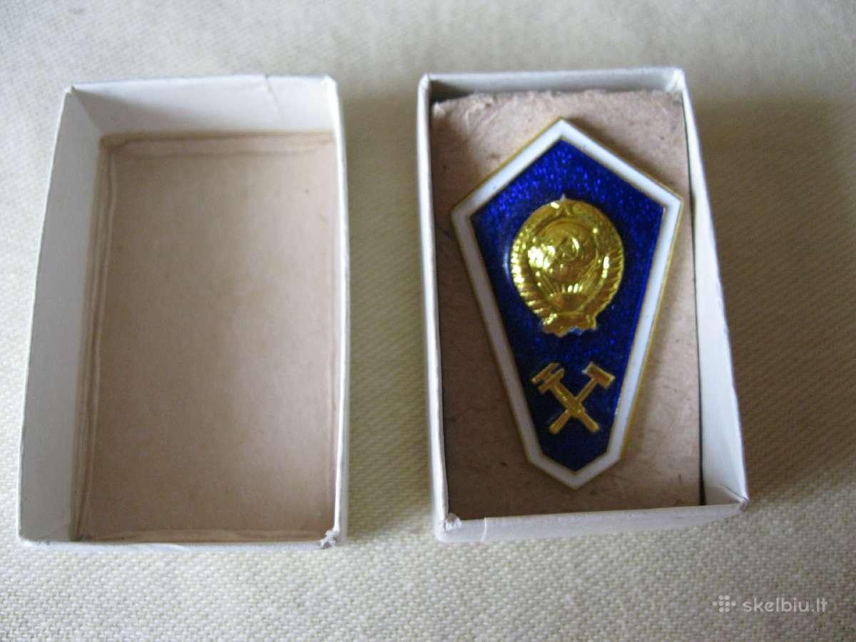 CCP Ženklas.zr. foto. Naujas - Originalas.