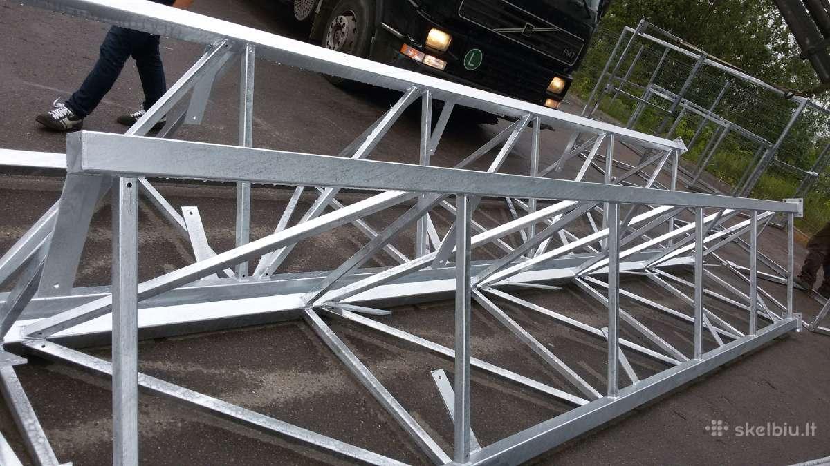 Metalinių konstrukcijų gamyba.