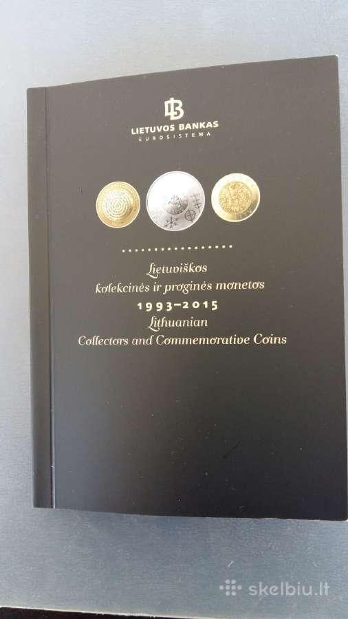Katalogas Lietuva monetos 1993 - 2015