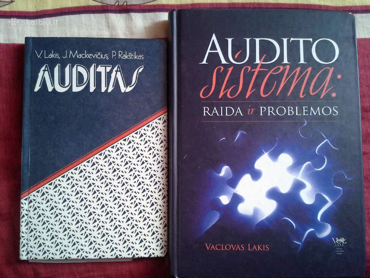 Knygos apie auditą