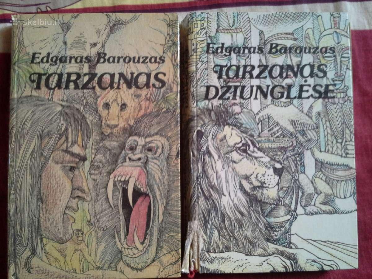 Tarzanas 2 knygos - 3€