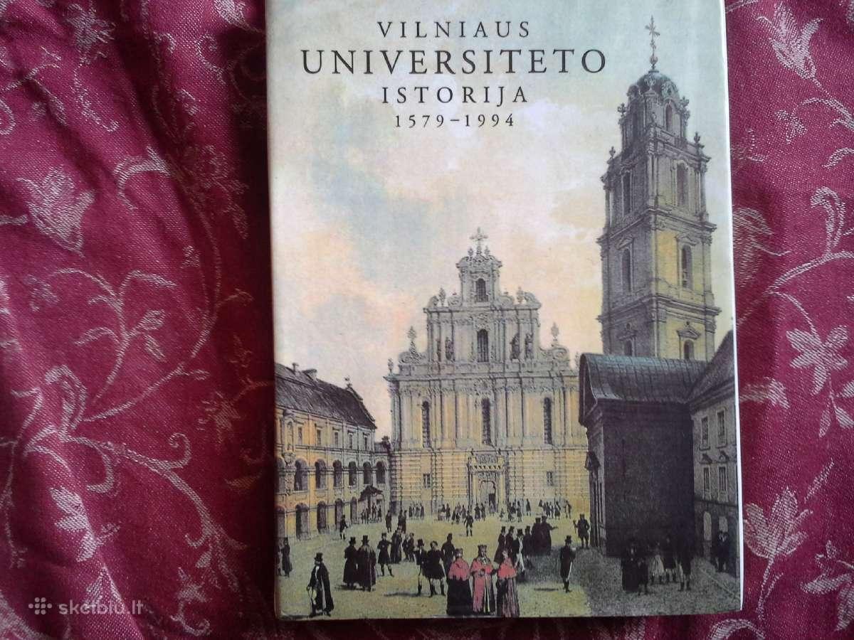 Vilniaus Universiteto istorija 1579 - 1994 - 6€