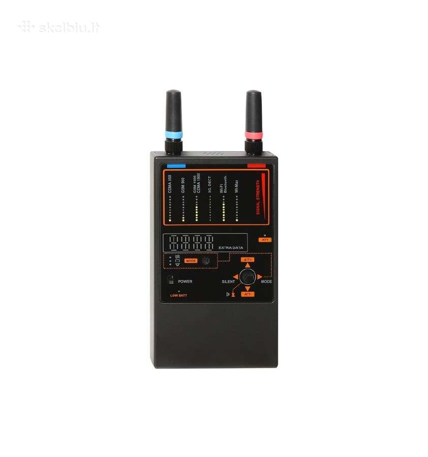 Blakių, GPS seklių detektorius - ieškiklis 1207