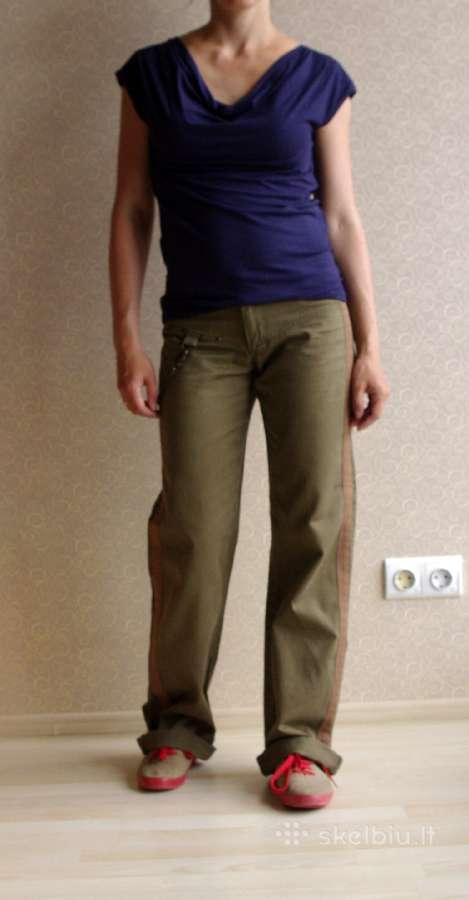 Chaki kelnės Only Jeans 32