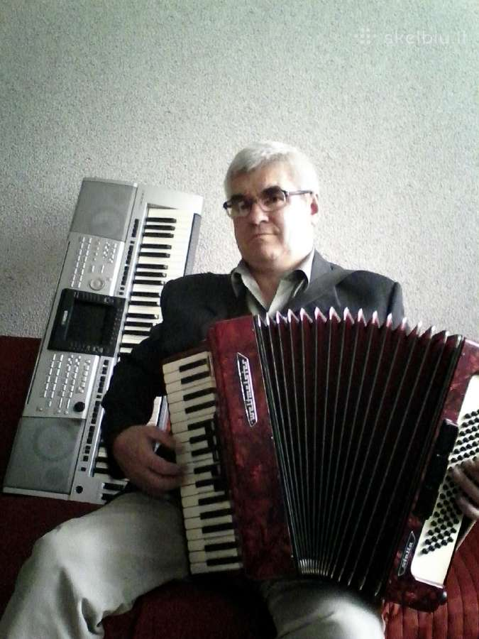 Muzikantas Aloyzas Rutkauskas