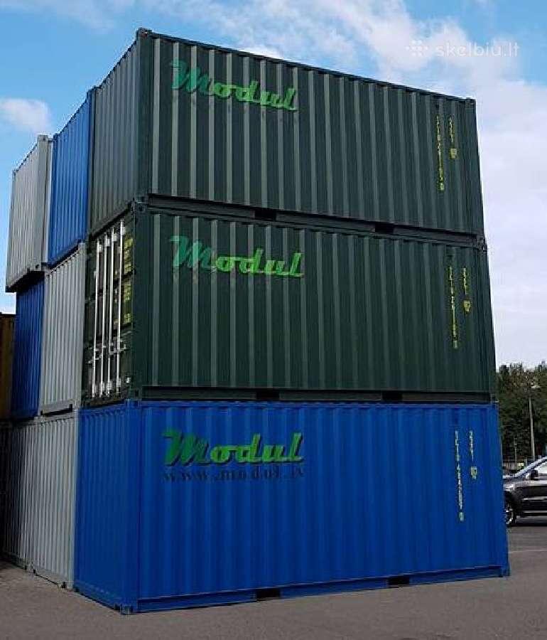 Nauji jūriniai konteineriai