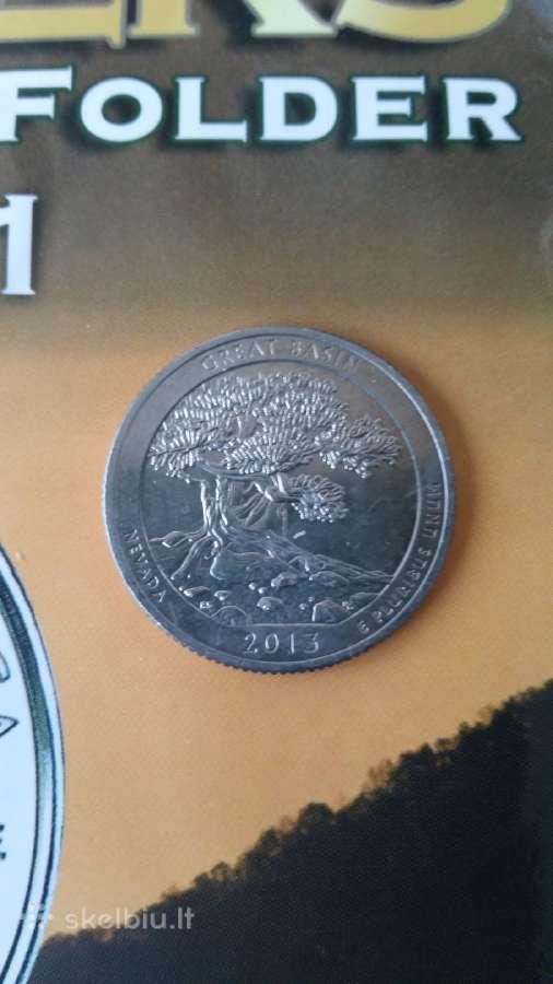Jav / Usa 25 centai Nevada quarter