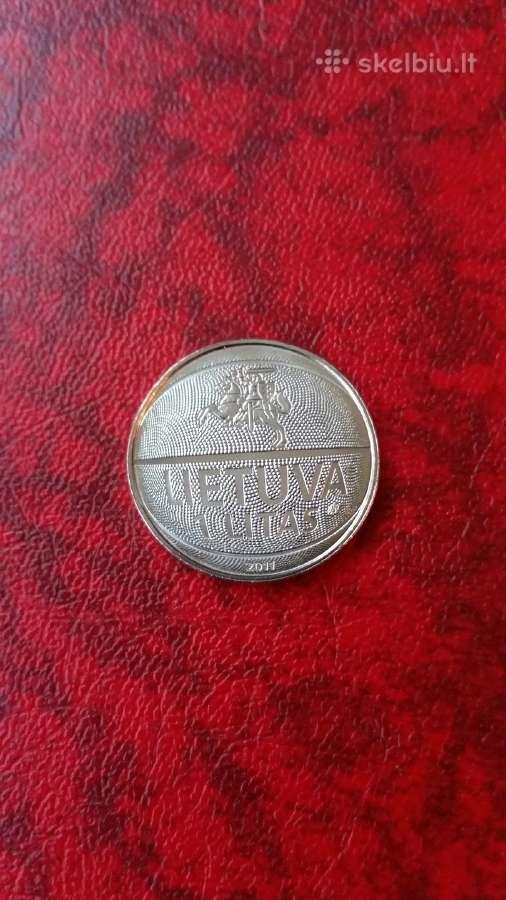 Lietuva 1 litas krepšinio čempionatui Unc