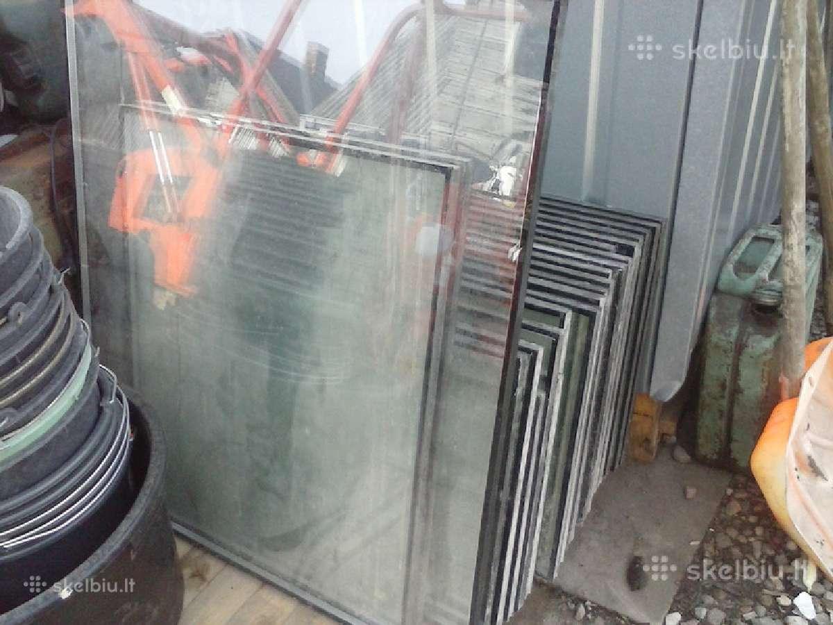 Parduodami paprasti ir vitriniai stiklai (1 cm )