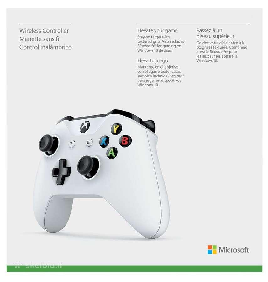 Originalūs Xbox One pulteliai nuo 42 Eur