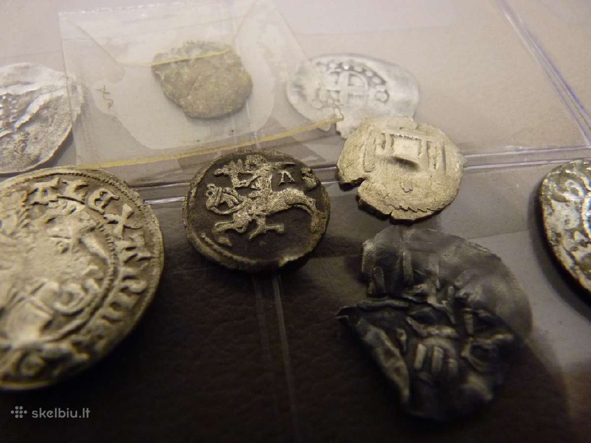 Ieskau senu, Viduramziu monetu.