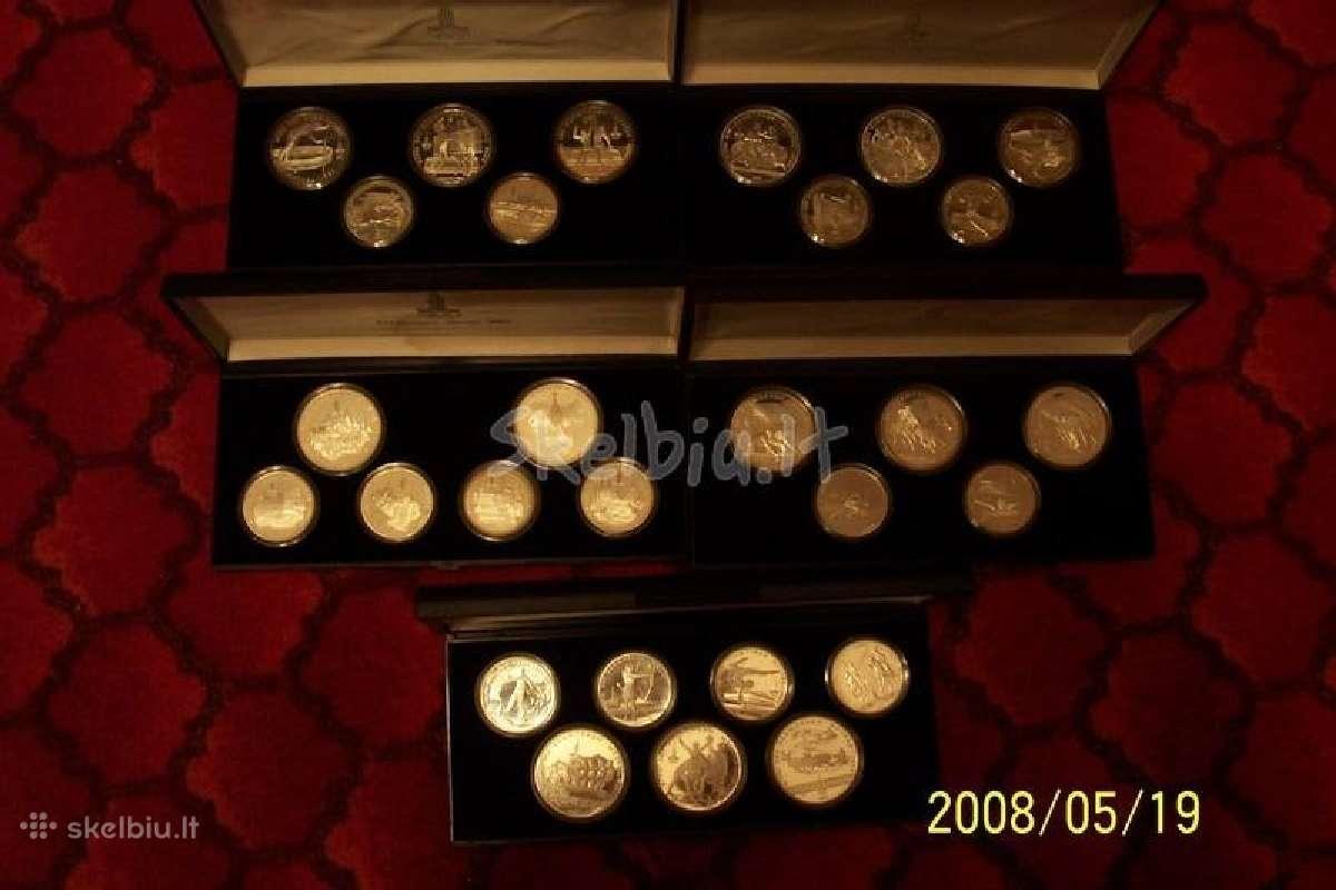 Olimpiniu sidabriniu rublių kolekcija