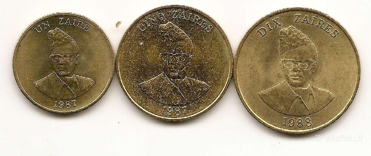 Zayro monetu rinkinukas