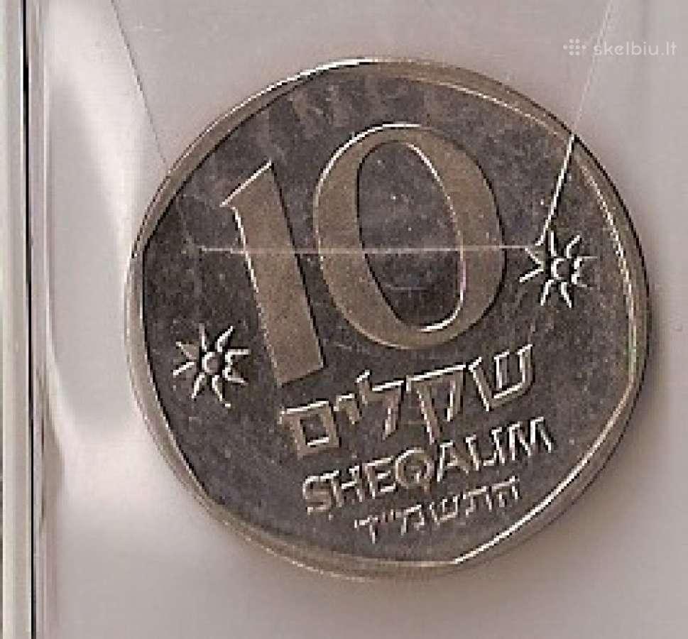 Izraelis 1984m. 10 šekelių (Teodor Gercl)