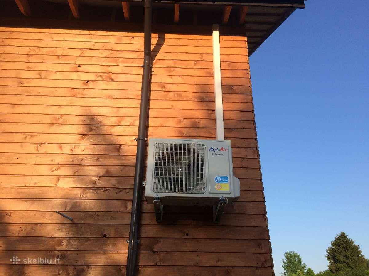 Oras-oras Šilumos Siurblys iki -30 C šalčių