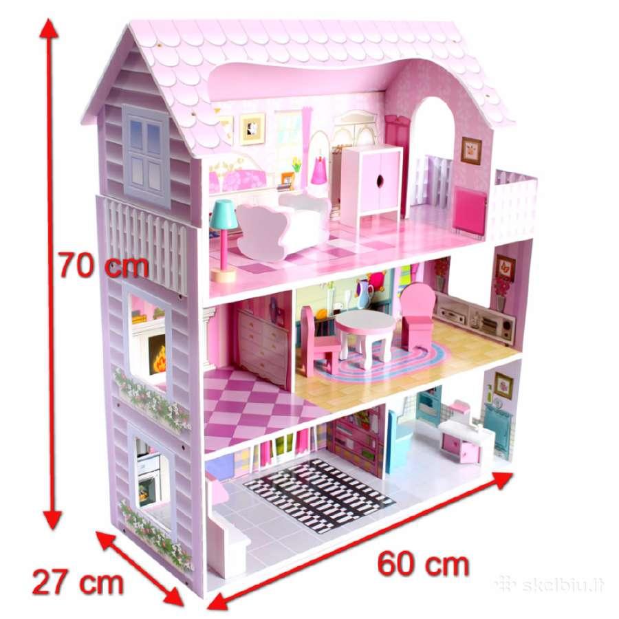 Lėlių namai 70x60x27