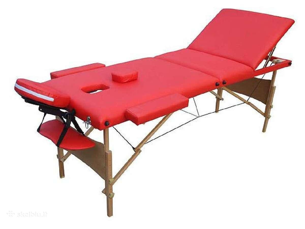 Masažinis sudedamas stalas, naujas gavimas!