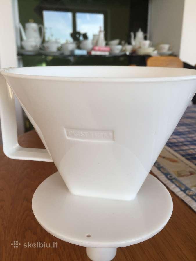 Plastikinis indas kavos filtrui