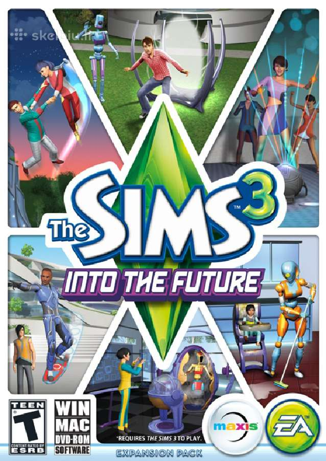 The sims 3 into the future 20in1