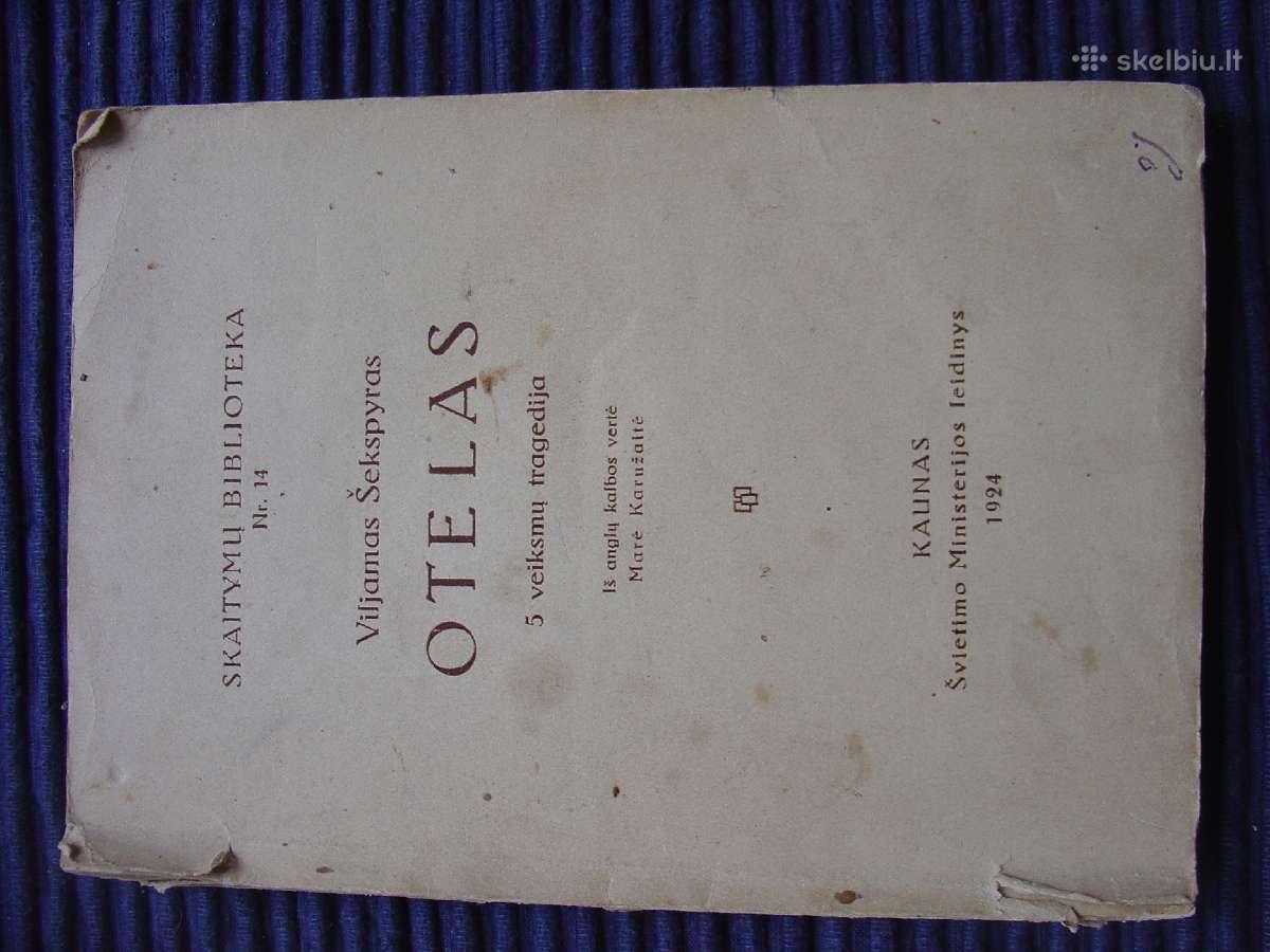 V. Šekspyras Otelas