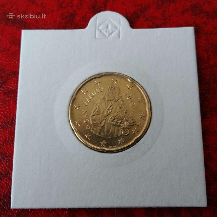 San Marinas 20 centų 2015