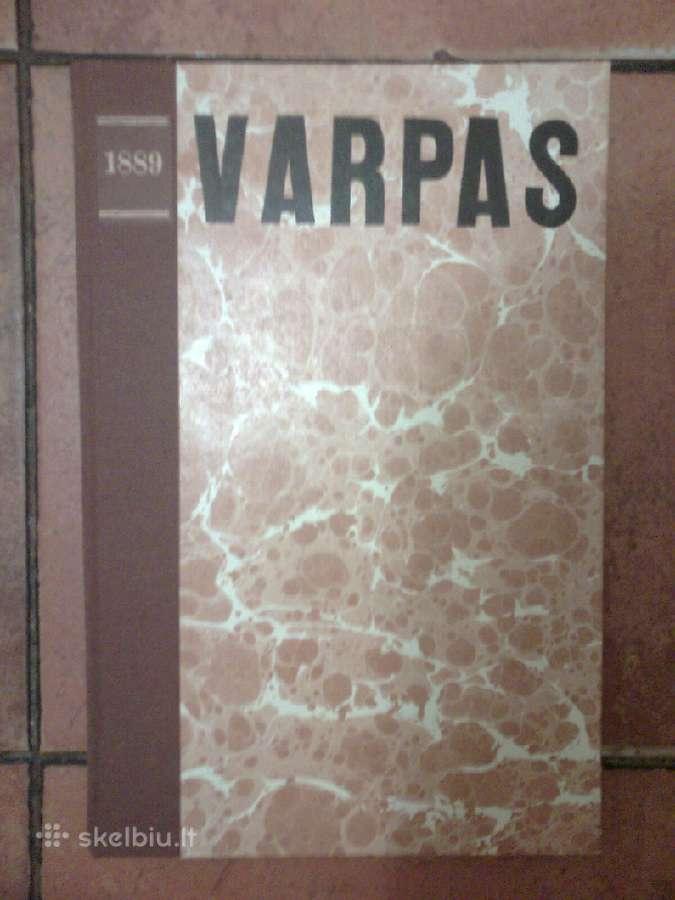 Pirmasis lietuviskas laikrastis <Varpas> 1889m.