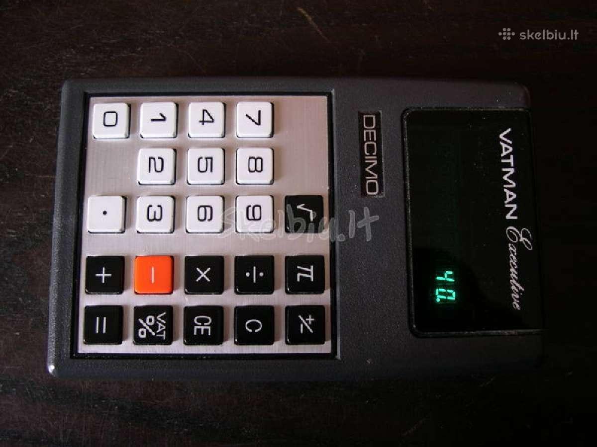 Skaiciavimo technika is XX amziaus.zr. foto.