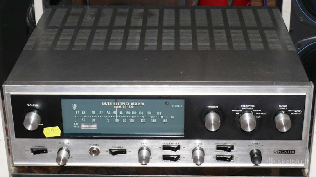 Lempinis resyveris Pioneer Er-420