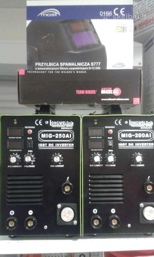 Suvirinimo aparatas kempas pusautomatis Mig 250