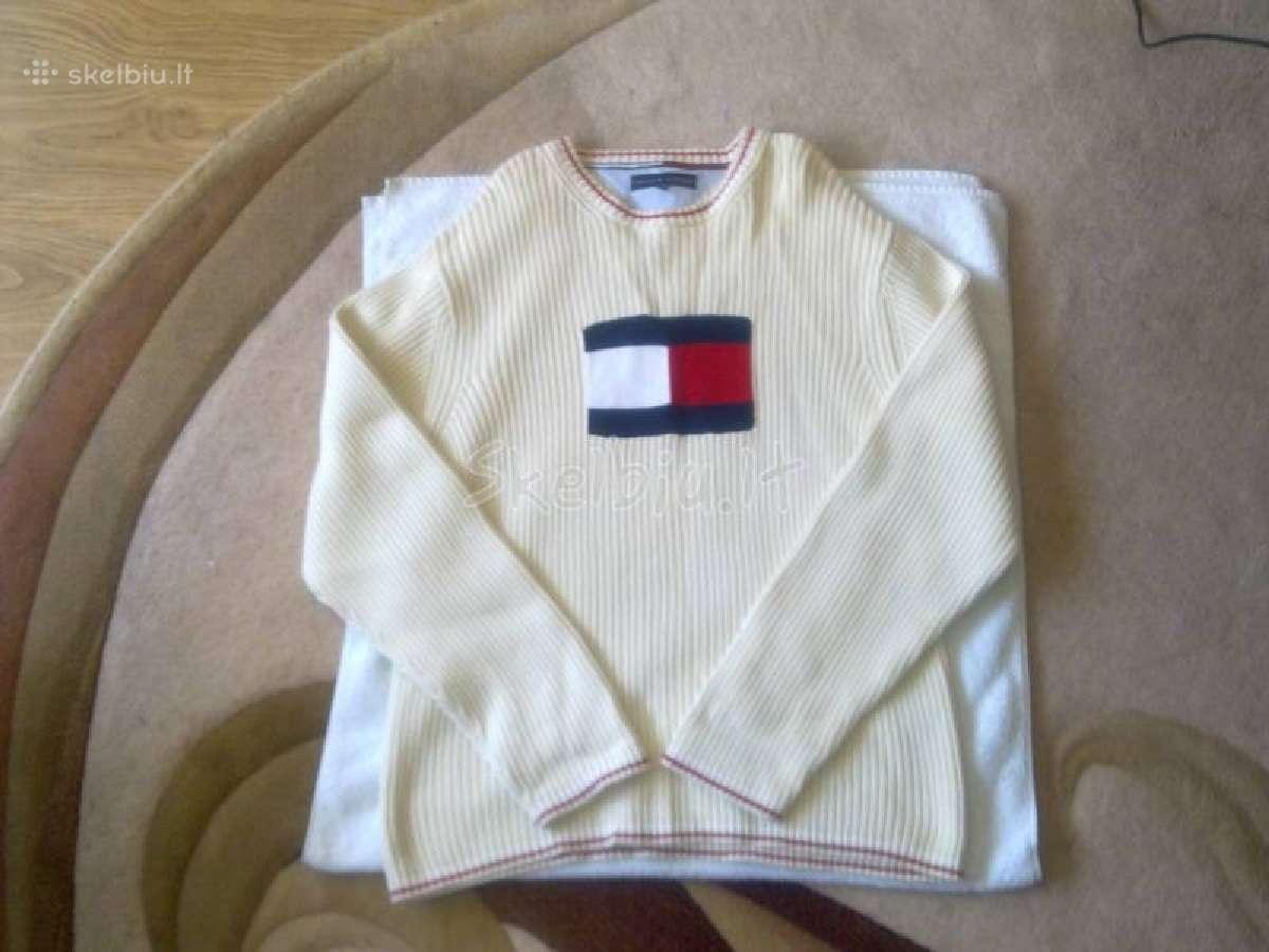 Visiškai naujas vyriškas tommy hilfiger megztinis