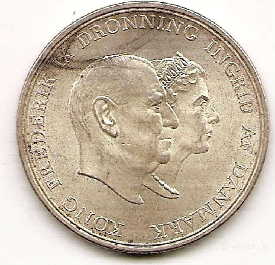 Danija 5 kroner 1960 #852 (1614)