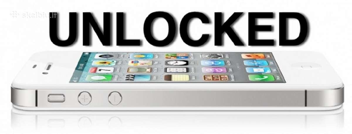 iPhone Gamyklinis Atrišimas. (Factory Unlock).