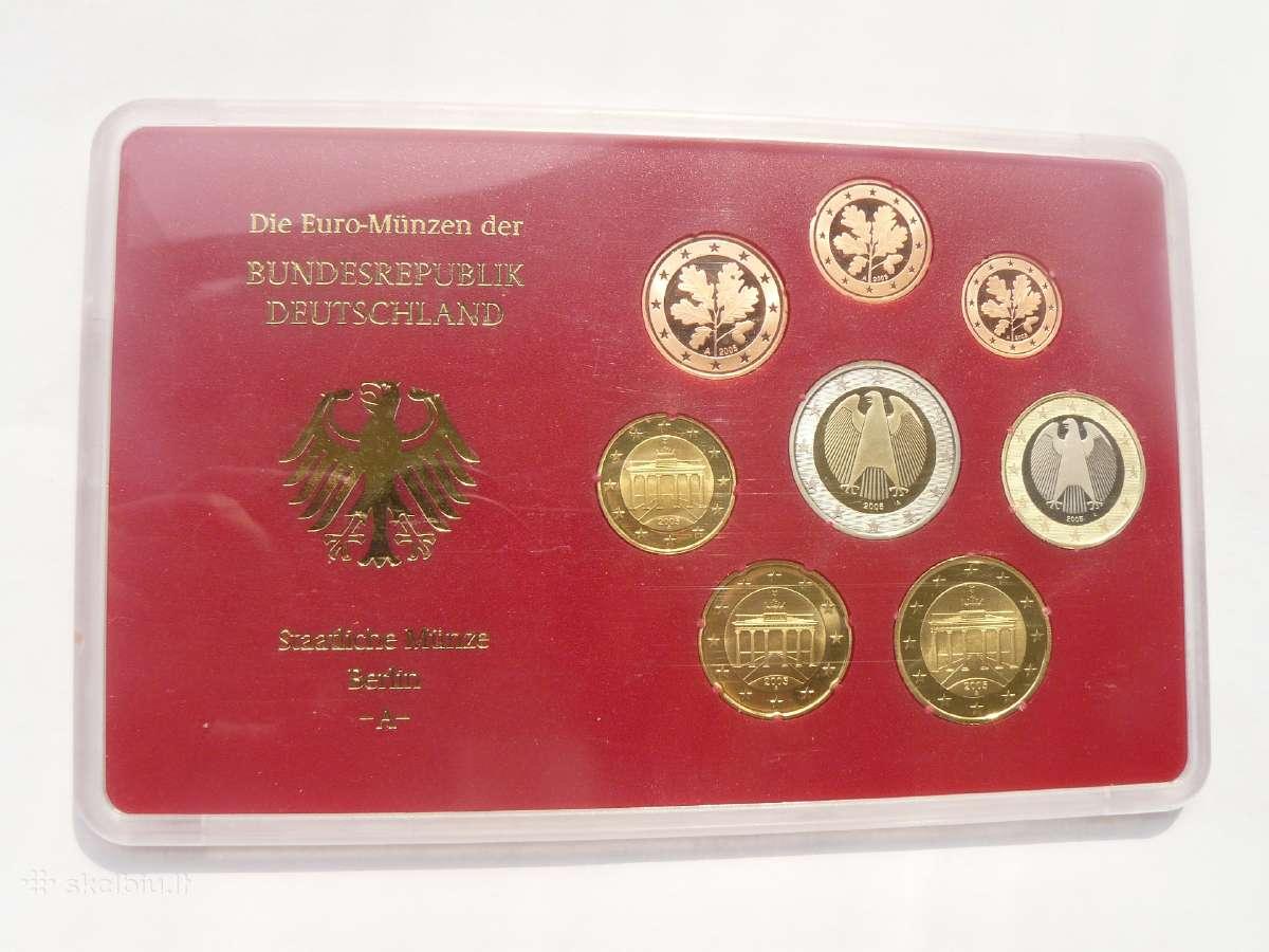 Vokietija euro rinkinys Bu 2005m