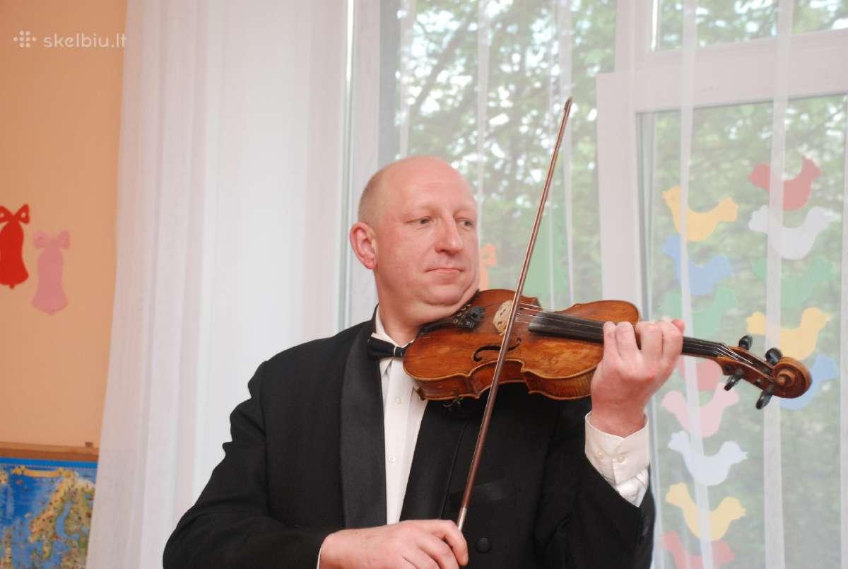 Klasikinė muzika, smuikas.