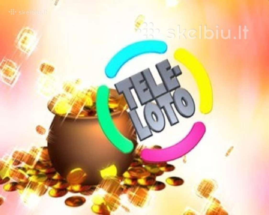 Pirkciau laiminga bileta Teleloto !