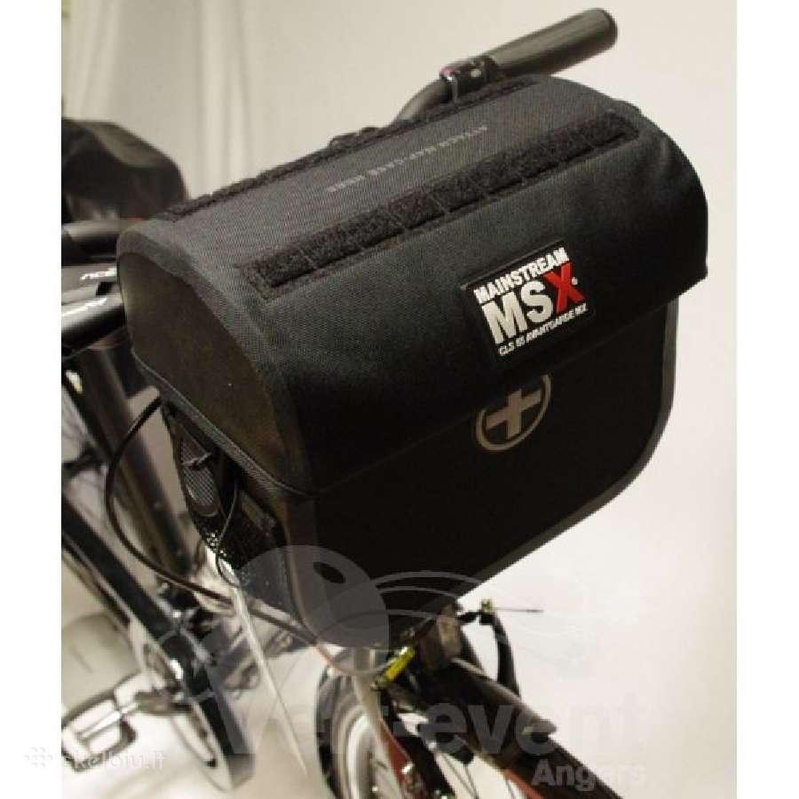 Profesionali taše dviračio vairui + adapteris