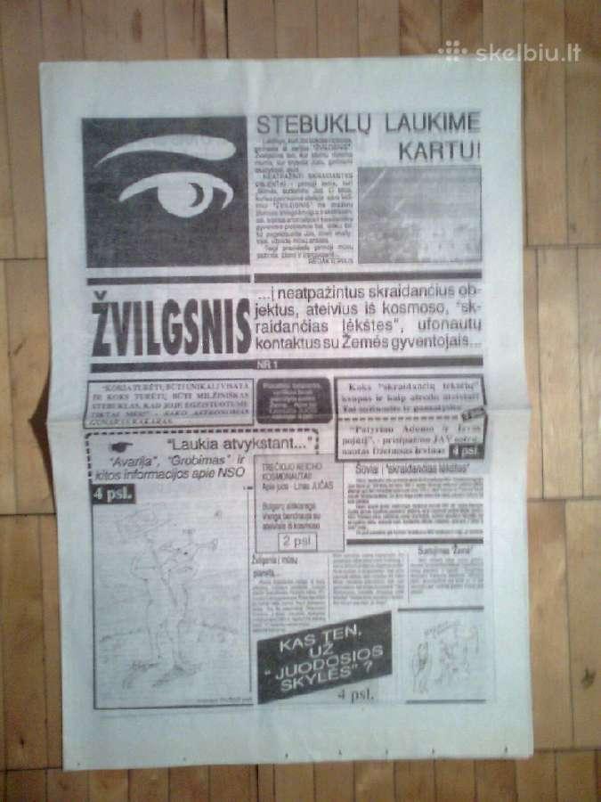 """Laikrastis """"Zvilgsnis"""" apie Nso 1990 m."""
