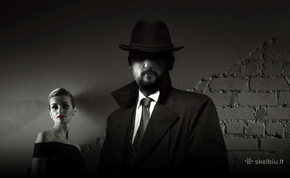 Detektyvo paslaugos,- Verslui ir Žmogui.