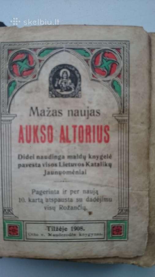 Aukso altorius 1908 Tilżė