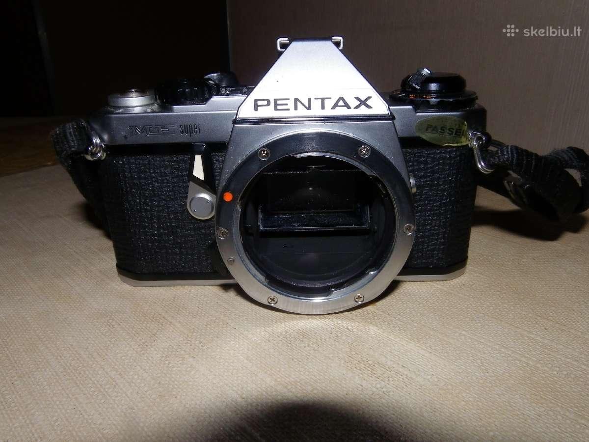 M42 ir Pentax K bajoneto fotoaparatai