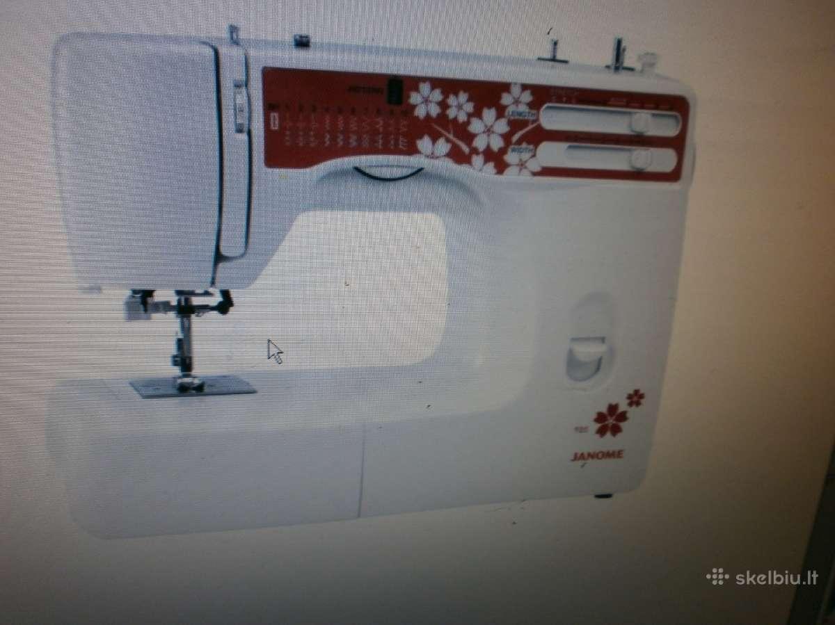 Siuvimo mašina Janome 920 tik 150eur