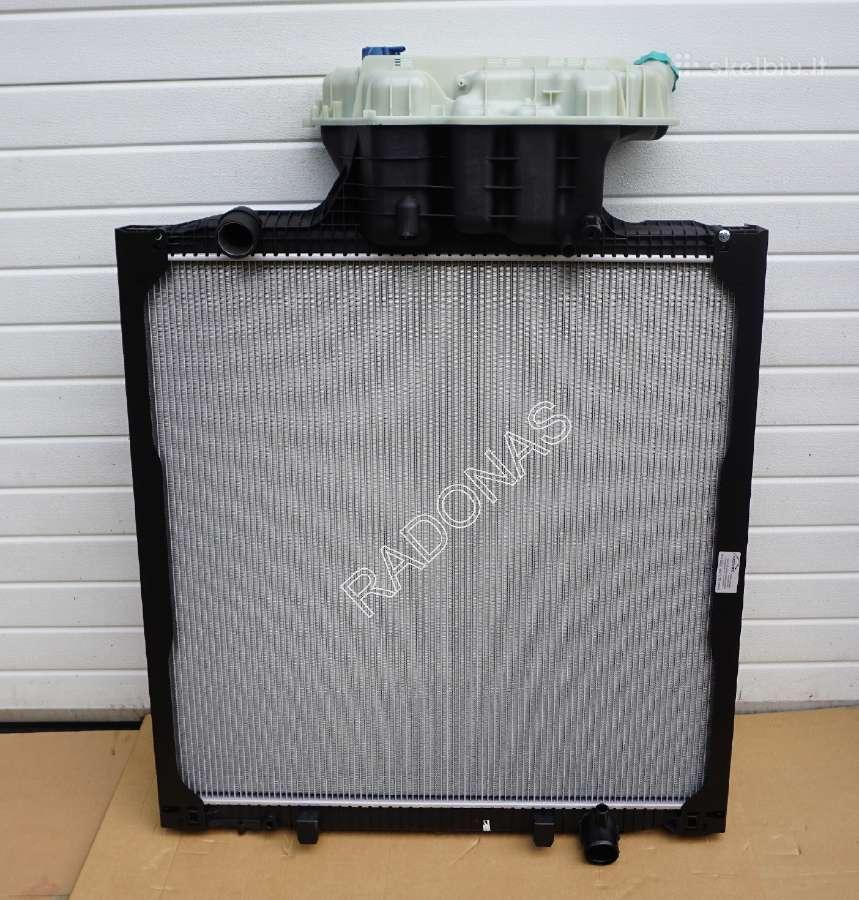 Naujas Man Tga, Man Tgx radiatorius
