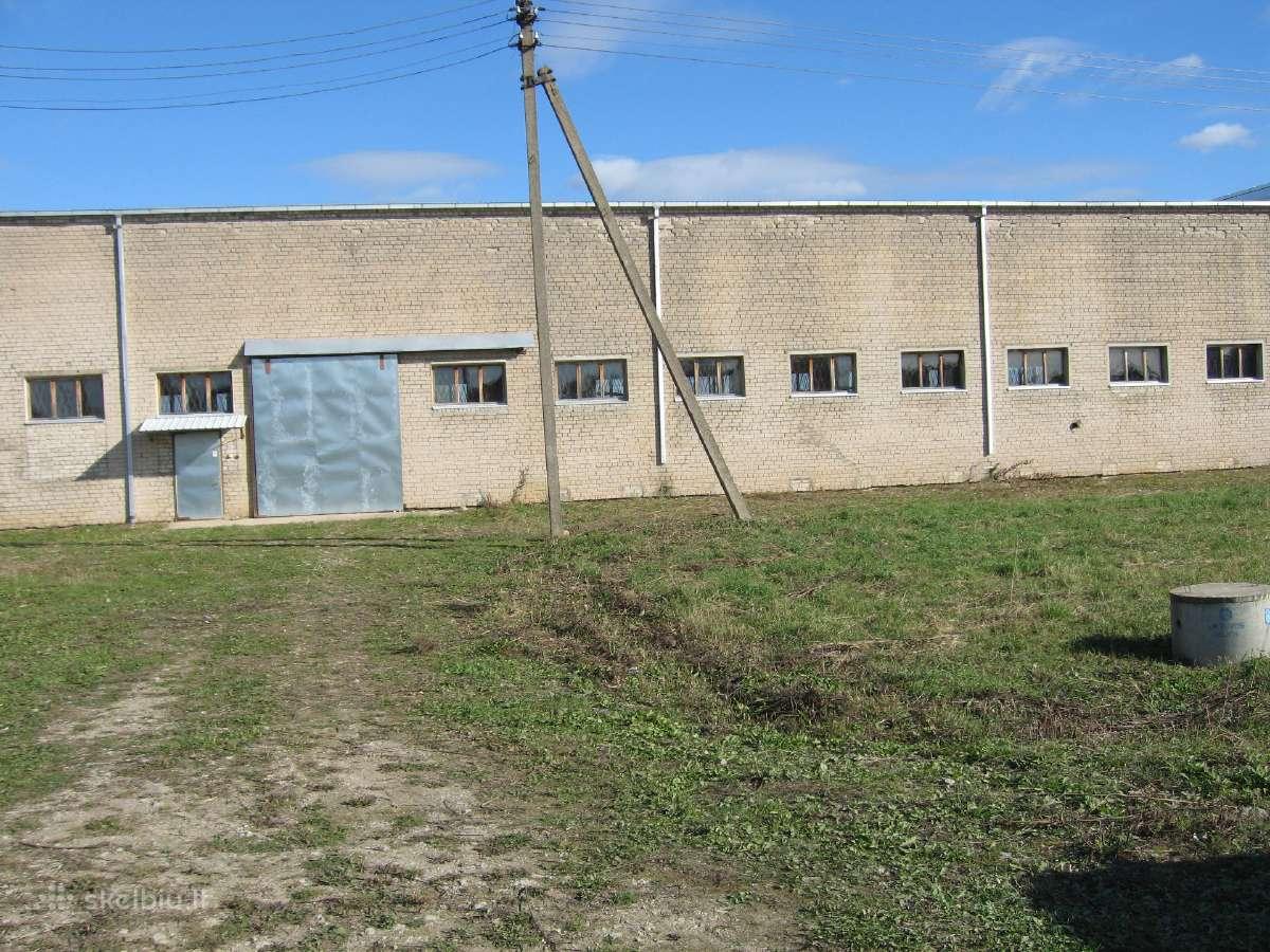 Gamybinės- sandėliavimo paskirties pastatas
