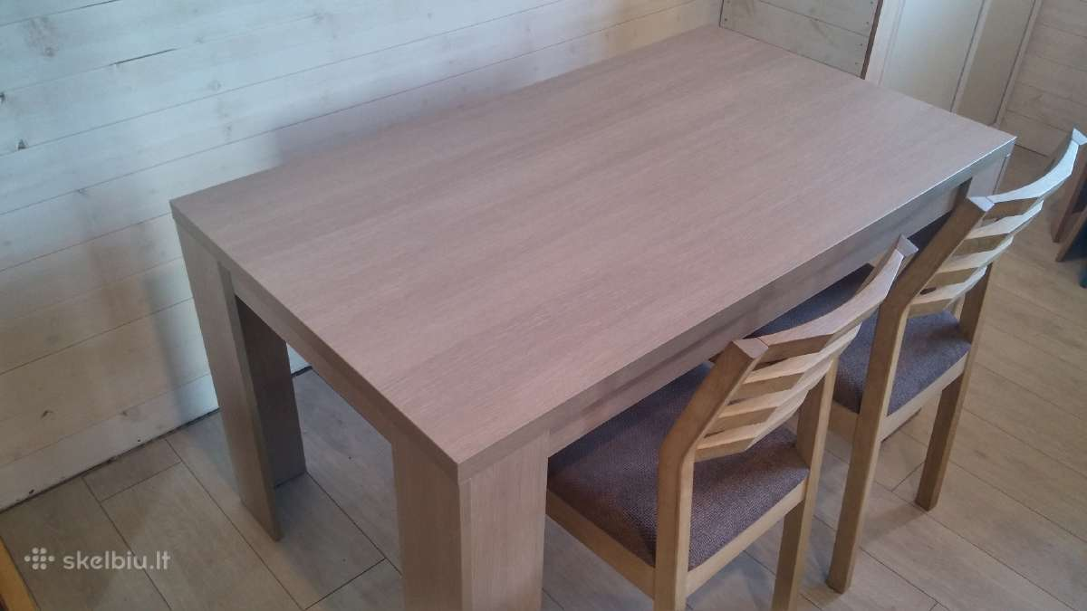 Naujas virtuvinis stalas 74eur.