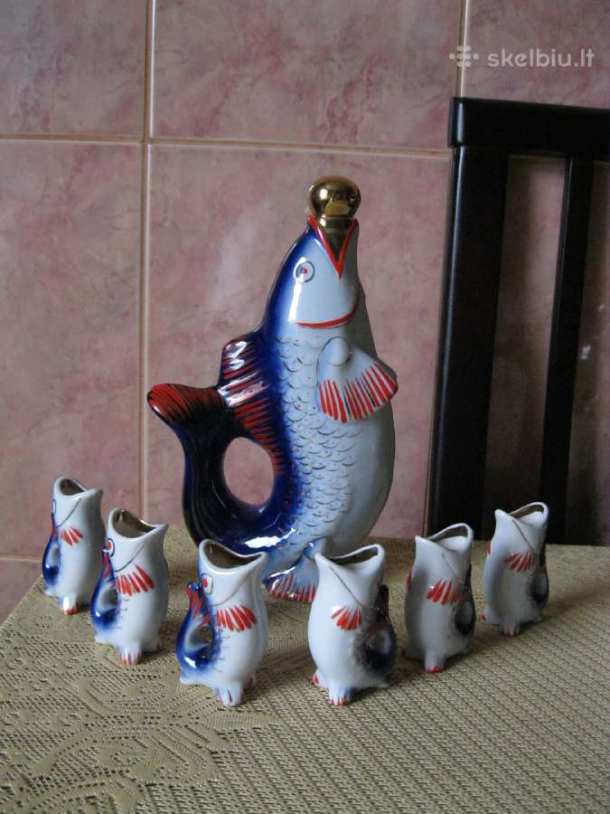 CCCP Porcelianas.zuvele ir zuvytes.zr. foto.
