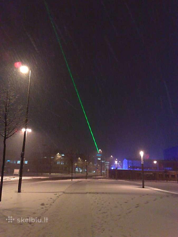 Žalias lazeris! Puiki Kalėdinė dovana vaikams!