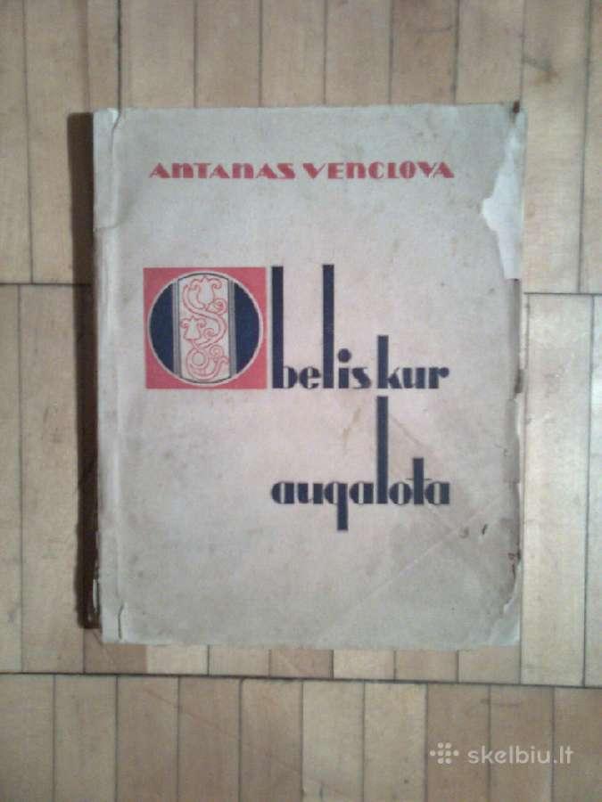 "Antanas Venslova ""Obelis kur augalota"" 1945m."
