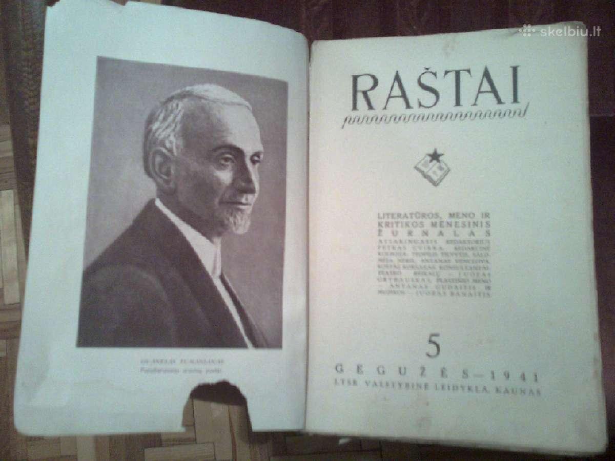 """Sovietinis zurnalas """"Rastai"""" isleistas 1941 metais"""