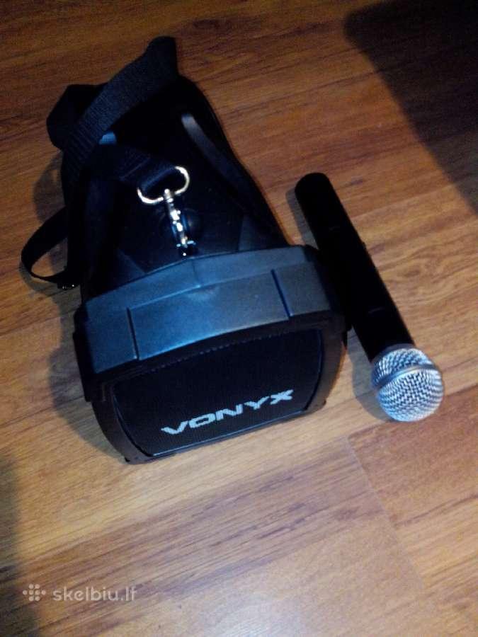 Nesiojama kolonele su bevieliu mikrofonu
